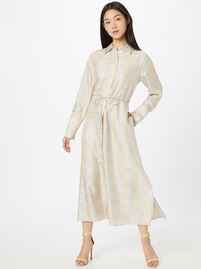 Rochie tip bluză 'Darla' IVY & OAK pe bej / auriu / argintiu, Vizualizare model