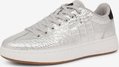 WODEN Sneakers laag in de kleur Zwart / Zilver, Productweergave