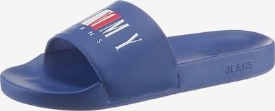 Tommy Jeans Pantolette in blau / rot / weiß, Produktansicht