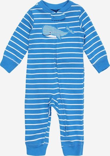 Carter's Overall in de kleur Hemelsblauw / Zwart / Wit, Productweergave