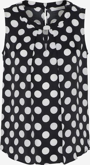 ETERNA Blouse in de kleur Zwart / Wit, Productweergave