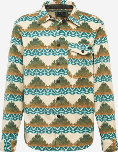 BILLABONG Funkční košile - béžová / tyrkysová / hnědá, Produkt
