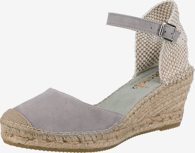 Vidorreta Sandale in grau, Produktansicht