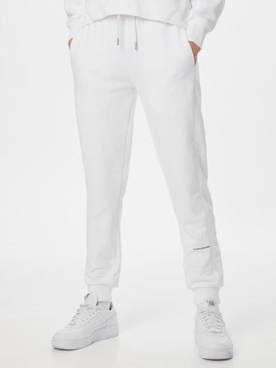 Calvin Klein Jeans Jogginghose in weiß, Modelansicht