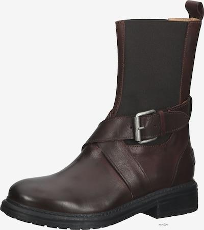 SHABBIES AMSTERDAM Stiefel in dunkelbraun, Produktansicht
