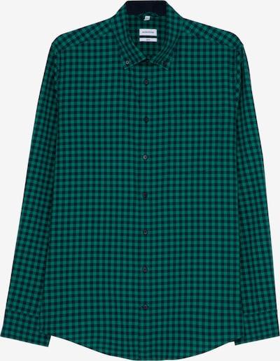 SEIDENSTICKER Overhemd in de kleur Groen / Zwart, Productweergave