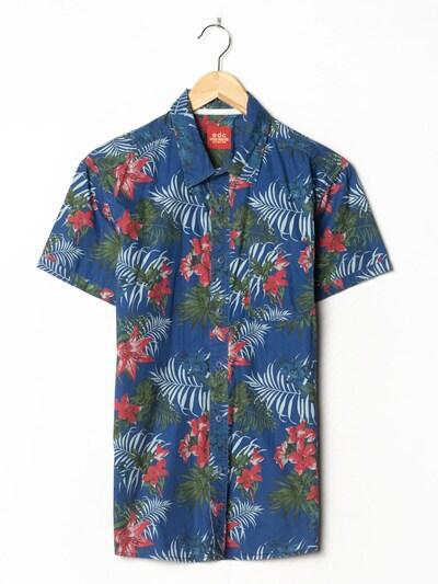 EDC BY ESPRIT Hawaiihemd in S-M in blau, Produktansicht