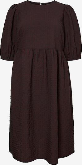 Vero Moda Curve Kleid 'Bine' in dunkelgrau / dunkelrot, Produktansicht