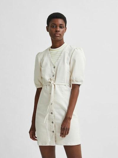 SELECTED FEMME Kleid 'SOPHIA' in white denim, Modelansicht