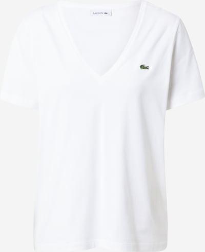 LACOSTE T-Shirt in weiß, Produktansicht