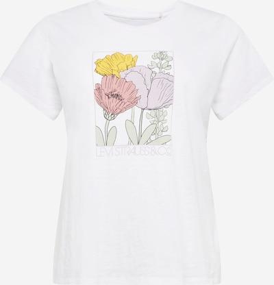 Levi's® Plus Shirt in mischfarben / weiß, Produktansicht