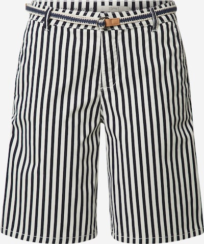 ESPRIT Pantalon en bleu marine / blanc cassé, Vue avec produit