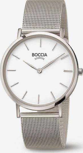 Boccia Titanium Uhr in silber, Produktansicht