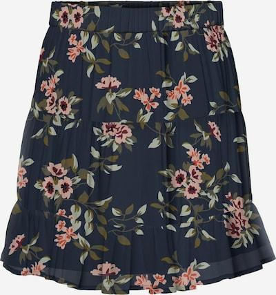 VERO MODA Skirt in Navy / Olive / Pastel green / Dark orange / Pink, Item view