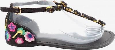 Asos Komfort-Sandalen in 37 in pastellgelb / pink / schwarz, Produktansicht