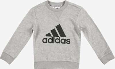 ADIDAS PERFORMANCE Sweat de sport en gris chiné / noir, Vue avec produit