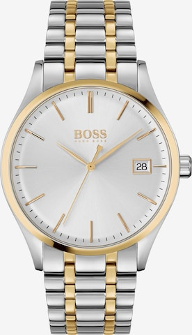 BOSS Casual Uhr 'Commissioner' in Silber