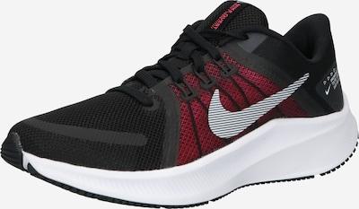 NIKE Αθλητικό παπούτσι 'Quest 4' σε κόκκινο / μαύρο / λευκό, Άποψη προϊόντος