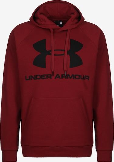UNDER ARMOUR Sweatshirt in rubinrot, Produktansicht