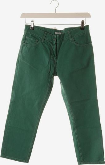Miu Miu Jeans in 27 in grün, Produktansicht