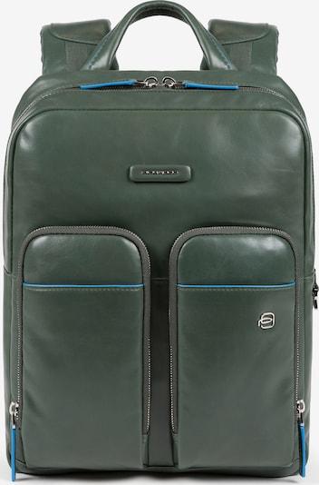 Piquadro Backpack 'B2 Revamp' in Blue / Dark green, Item view