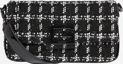 GUESS Olkalaukku 'Brightside' värissä musta / valkoinen, Tuotenäkymä