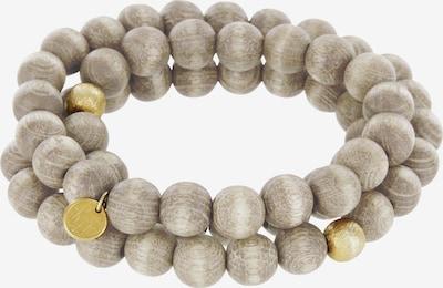 YOGISTAR.COM Armband in gold / grau / mischfarben, Produktansicht