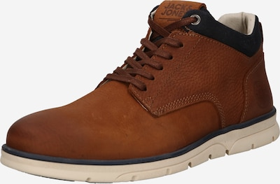 JACK & JONES Lace-Up Boots 'Hennessy' in Cognac, Item view
