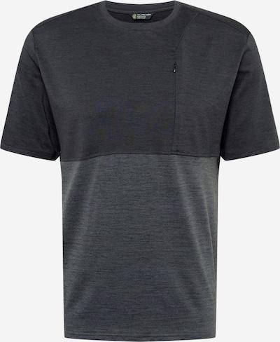 KILLTEC Camiseta funcional 'EJBY' en gris moteado / negro moteado, Vista del producto