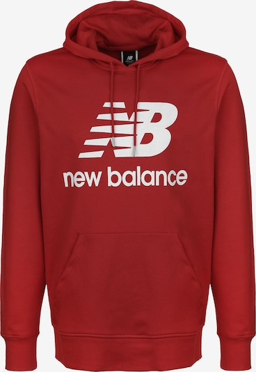 new balance Sweatshirt in rot / weiß, Produktansicht