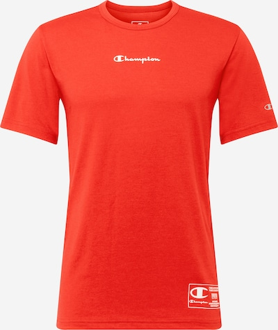 Champion Authentic Athletic Apparel T-Shirt in rot / weiß, Produktansicht