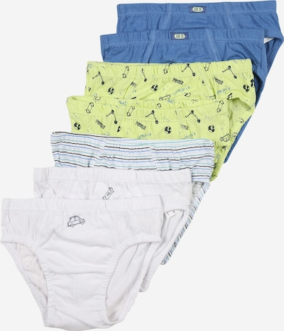 OVS Underpants in Night blue / Sky blue / Yellow / White, Item view