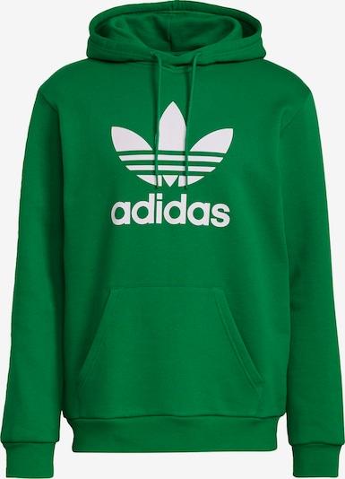 ADIDAS ORIGINALS Sweatshirt i grön / vit, Produktvy