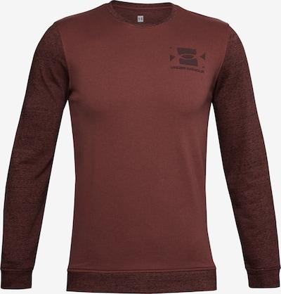 UNDER ARMOUR Sportsweatshirt in burgunder, Produktansicht