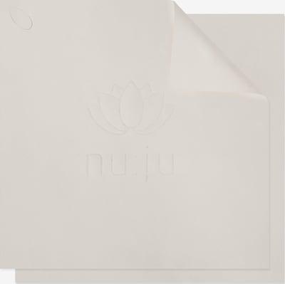 nu:ju Waschlappen Mikrofaser in weiß, Produktansicht