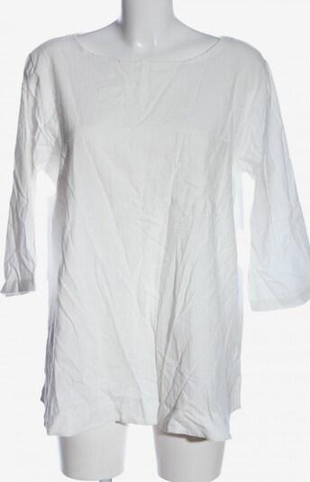 Zanzea Langarm-Bluse in XXXL in weiß, Produktansicht