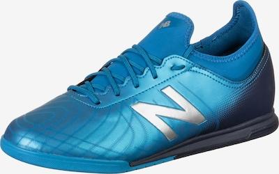 new balance Fußballschuh in himmelblau / dunkelblau / silber, Produktansicht
