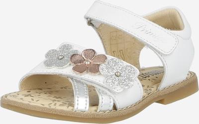 PRIMIGI Sandales en bronze / argent / blanc, Vue avec produit