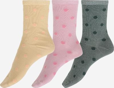 ONLY Ponožky 'ONLSTINE' - žlutá / zelená / pink, Produkt