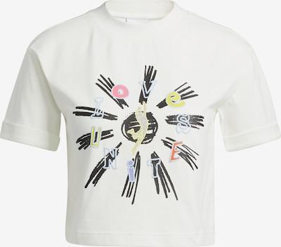 ADIDAS ORIGINALS T-Shirt in hellblau / gelb / rosa / schwarz / weiß, Produktansicht