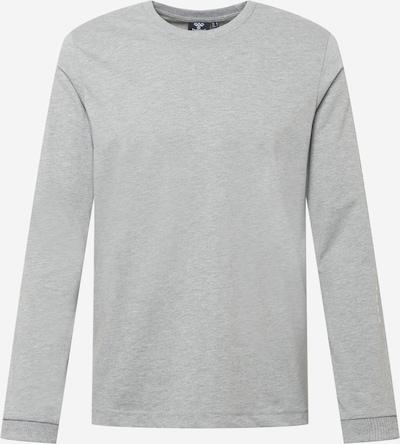 Hummel Tehnička sportska majica u siva / bijela, Pregled proizvoda
