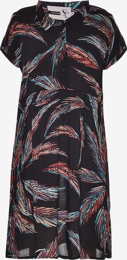 STUDIO Kleid in blau / dunkelrot / schwarz, Produktansicht