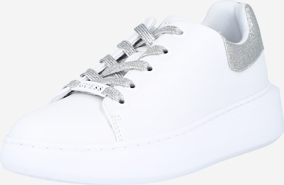 GUESS Sneakers low 'BRADLY' in silver / white, Item view