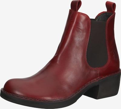 FLY LONDON Stiefelette in rot / schwarz, Produktansicht