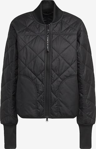 ADIDAS PERFORMANCE Athletic Jacket in Black