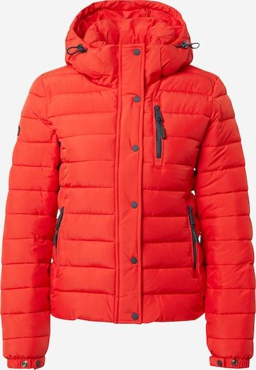 Superdry Winterjas 'Fuji' in de kleur Vuurrood, Productweergave