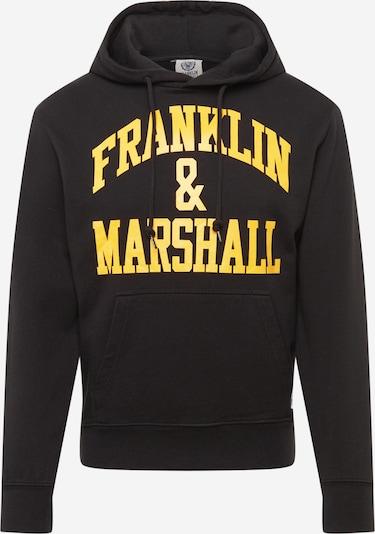 FRANKLIN & MARSHALL Sweatshirt in gelb / schwarz, Produktansicht