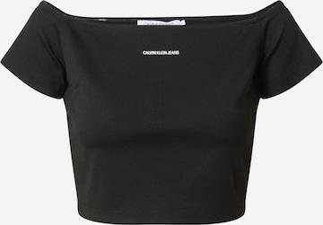 Calvin Klein Jeans Shirt 'Milano' in Zwart