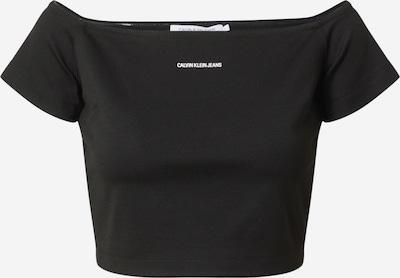 Calvin Klein Jeans Shirt 'Milano' in Black / White, Item view
