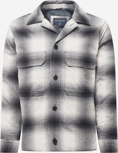 Abercrombie & Fitch Jacke in schwarz / weiß, Produktansicht